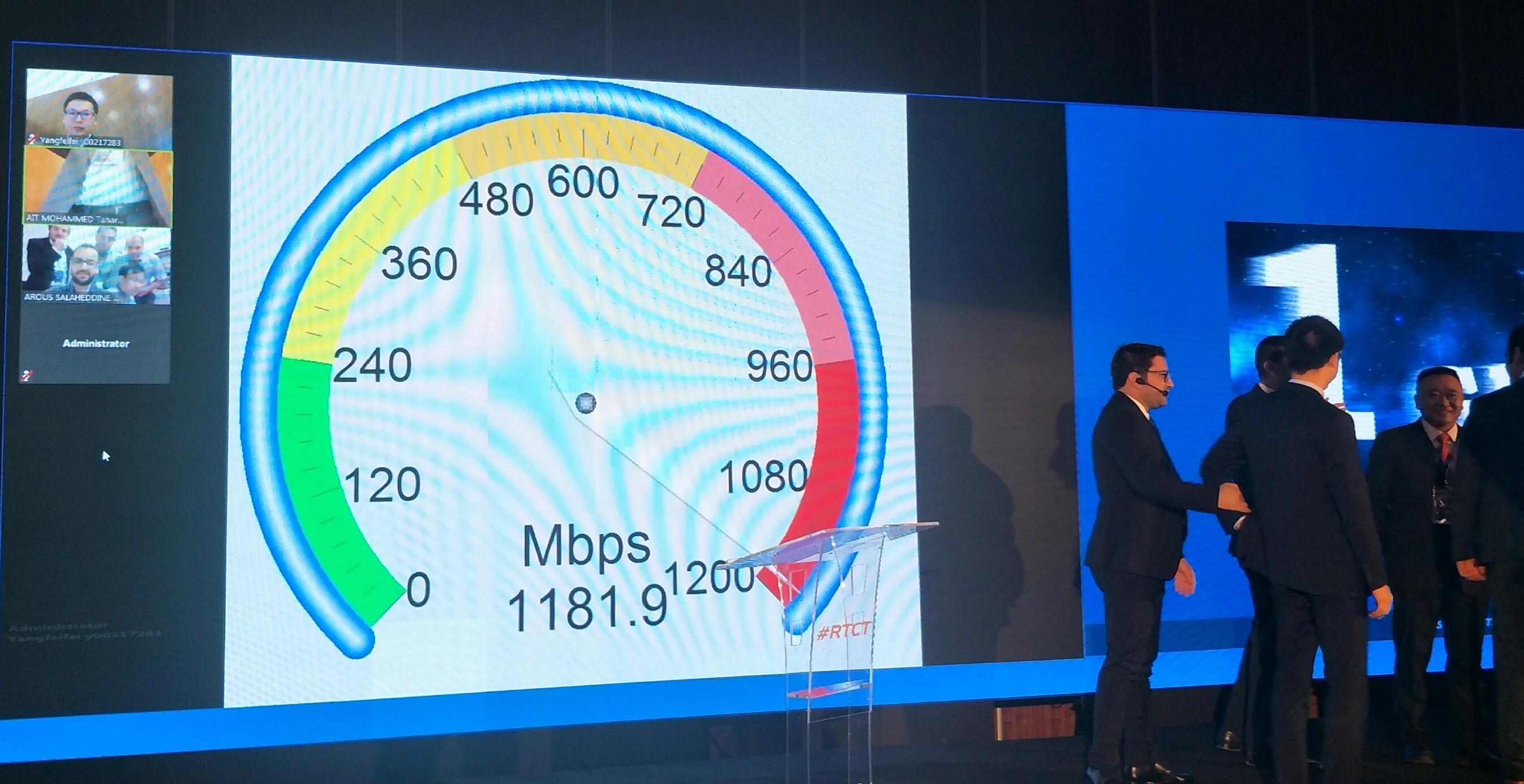 Photo of موبيليس وهواوي تحققان تدفقا بسرعة 1.18 جيغابث/ثانية