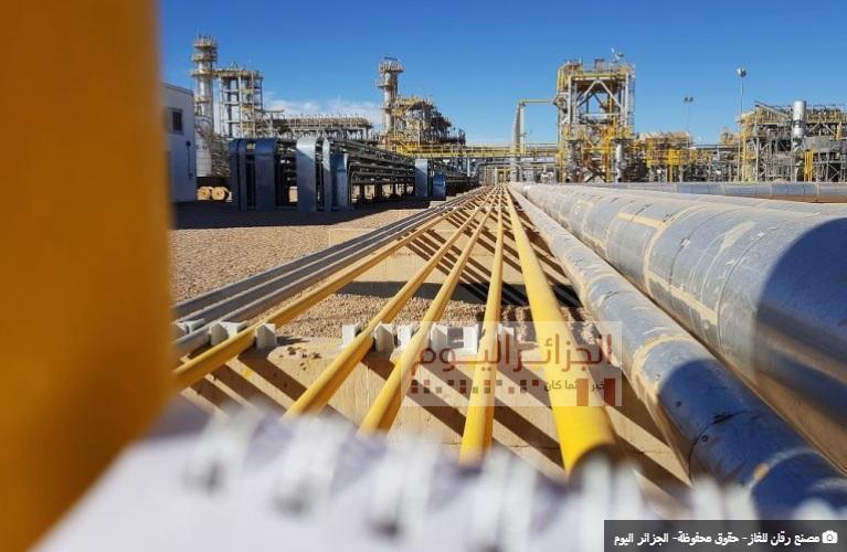 المركب الغازي رقان - صورة الجزائر اليوم