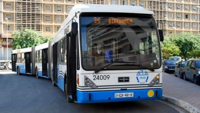 Photo of استئناف النقل بالحافلات ليلا في محطات الميترو