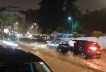 Photo of الأمطار تغلق مداخل العاصمة و المحاور الطرقية