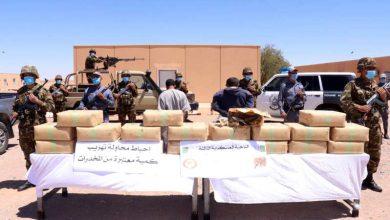 Photo of ضبط 625 كلغ من المخدرات المغربية في أسبوع